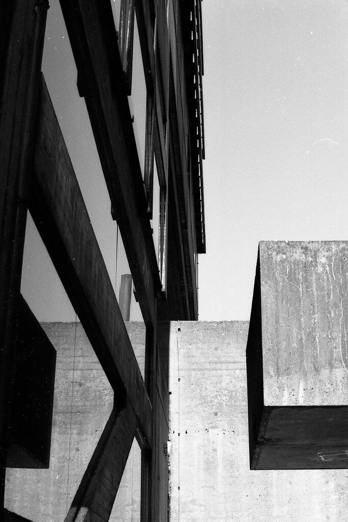 Sammelbau für Allg. Wissenschaften RWTH Aachen; Baujahr 1960-63